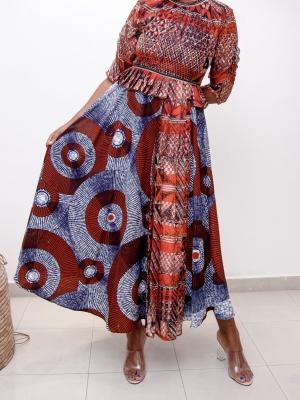Lati dress.(orange)
