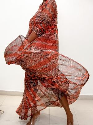 Ugo trapeze dress